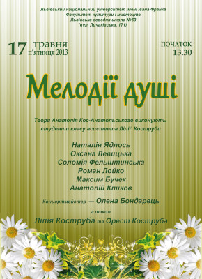 Мелодії Кос-Анатольського